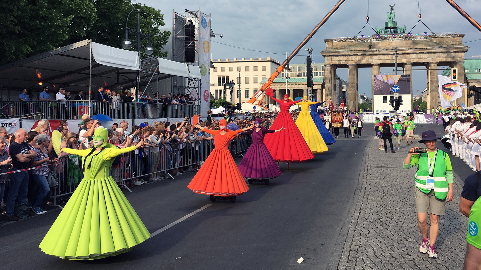 Walk Act Regenbogen-Ballett